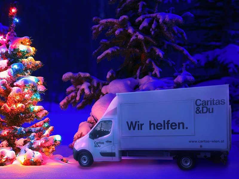 Weihnachtsgeschenk: Caritas Wien
